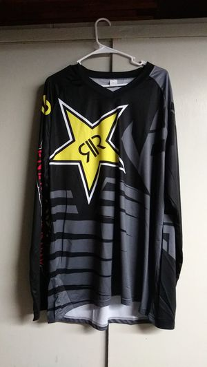 Rock Star dirtbike riding shirt never used. for Sale in Gresham, OR
