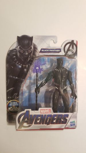Marvel Avengers Endgame Black Panther Action Figure HASBRO TOYS for Sale in Spring, TX