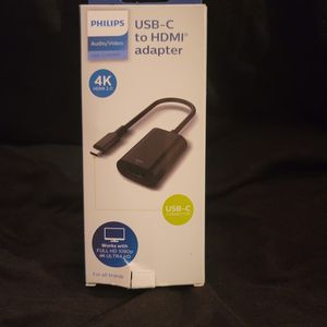 Phillips USB-C To HDMI Adapter 4K for Sale in Gaston, SC
