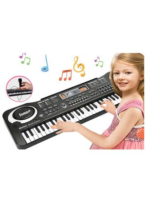 Piano Keyboard Music Piano Electric Keyboards for kids Musical Instrument USB multi-function w/Microphone Weighted keys Birthday Christmas Festival G for Sale in Irvine, CA