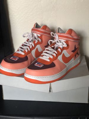 Burberry's Ricardo Tisci Hightop Airforce 1's (Chief Designer of Burberry) for Sale in Las Vegas, NV