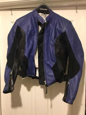 Teknic motorcycle jacket - sz 6 or 34 small for Sale in Diamond Bar, CA