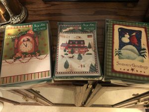 45 five x seven Christmas cards for Sale in Smyrna, TN