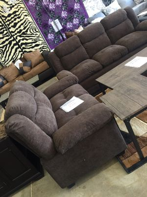 Sofa loveseat. Finance available. 1456 North Beltline Rd. garland TX 75044 suite number 121 for Sale in Garland, TX