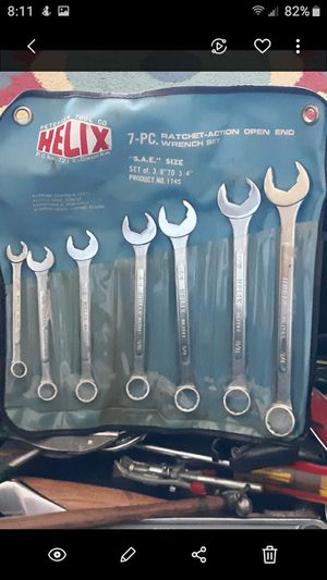 7 piece wrench set for Sale in Scottsdale, AZ