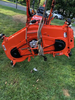 Kubota Bx 54 mower deck with factory baffle/mulch kit new blades for Sale in Middlebury, CT