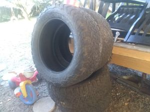 I have a set of 4 285/55/20 inch Bf goodrich all terrain tires in good condition with about 70% tread left on them 100$ obo for Sale in Dona Vista, FL