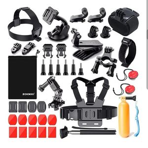 Camera Accessories Kit for Gopro for Sale in Barstow, CA