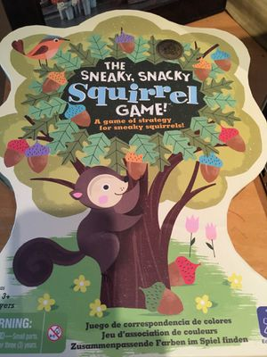 Sneaky snacks squirrel game for Sale in Seattle, WA