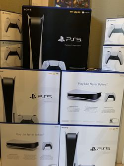 Ps5 Just Console And Controller/ Ps5 Controller And Games for Sale in Los Gatos,  CA