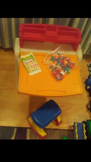 Kid desk with storage for Sale in Columbus, OH