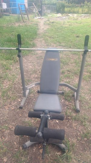 Body champ weight bench for Sale in Roman Forest, TX