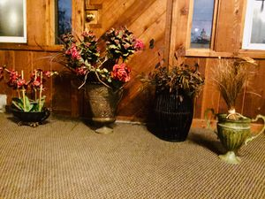 Fake Plants/flowers with holders for Sale in Lombard, IL
