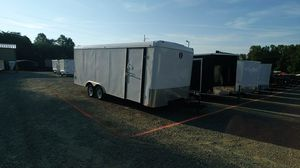 Used 8.5x20 Enclosed Trailer with Ramp for Sale in Burlington, NC