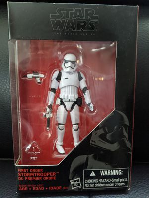 """Star Wars Black Series 3.75""""inch First Order STORMTROOPER Action Figure Collectible Toy for Sale in San Diego, CA"""