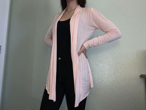 light pink cardigan for Sale in Fresno, CA