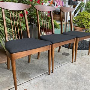 Vintage Mid Century Broyhill Sculptra Dining Desk Chairs $100 PER CHAIR (3 available) for Sale in San Diego, CA