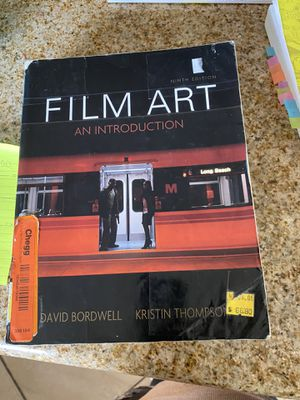 Film Art an introduction for Sale in Baldwin Park, CA