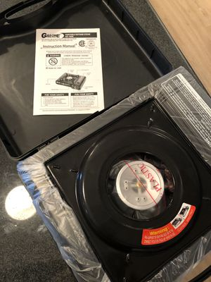 Never Used Portable Stovetop with Case for Sale in Scottsdale, AZ
