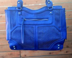 Blue leather Jessica Simpson women's purse MAKE ME A OFFER ( NOT FREE ) for Sale in Downey, CA