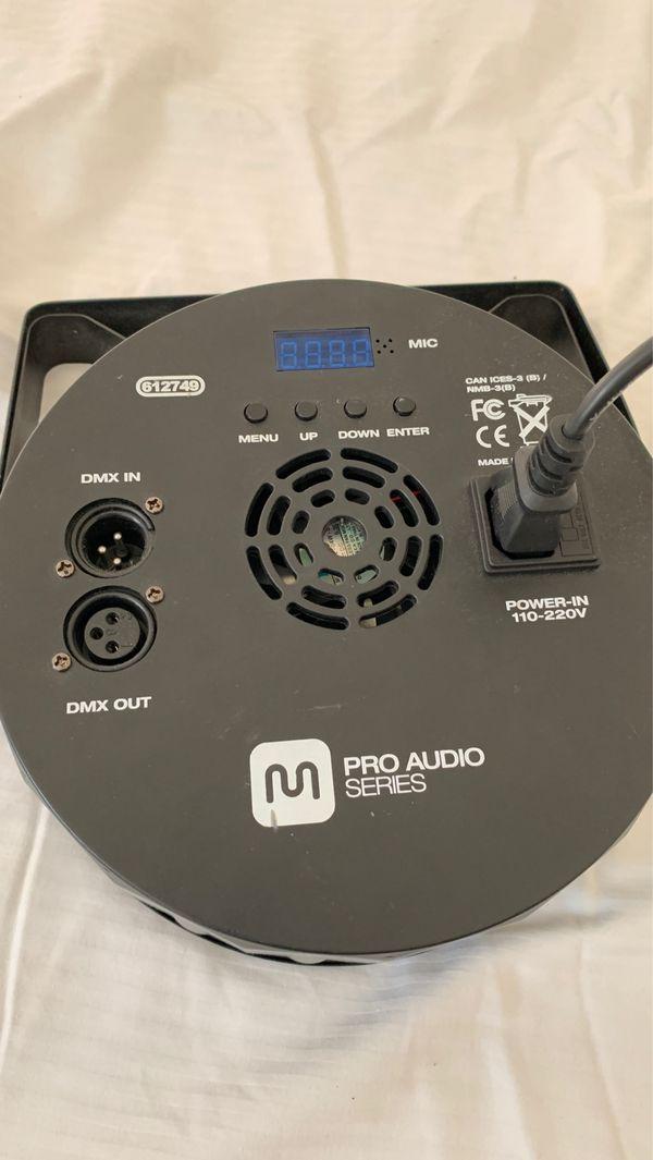 Pro Audio series disco/club lights