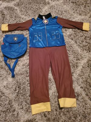 Paw Patrol Costume- Chase (Small) for Sale in Brooklyn, NY