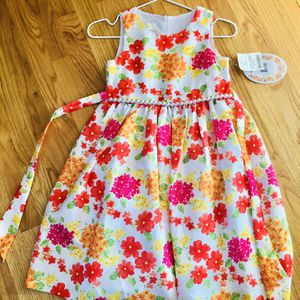 Beautiful Flowers Dress Size 7 Brand New for Sale in Woodbridge, VA