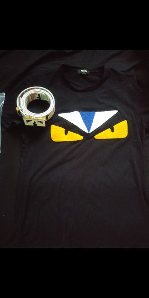 Fendi shirt and belt size M for Sale in Deerfield Beach, FL