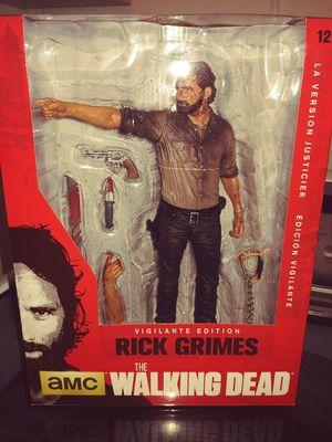 40$ OBO Rick Grimes The walking Dead action figure Vigilante Edition for Sale in Mesa, AZ