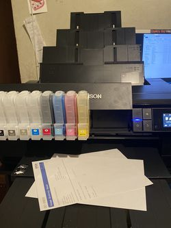 Epson Surecolor P-800 DTG DTF Converted Printer for Sale in Santa Ana,  CA