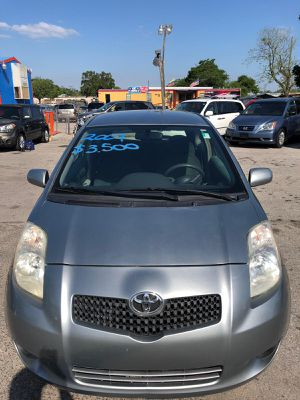 Toyota Yaris 2007 136k $3,500 cash good condition for Sale in Orlando, FL