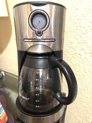 Me coffee coffee maker 12 cup for Sale in San Antonio, TX