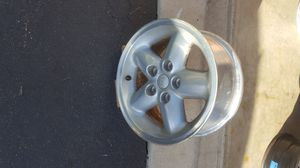 """15"""" by 7"""" aluminum wheel on a 4.5"""" bolt circle. for Sale in Plainfield, IL"""