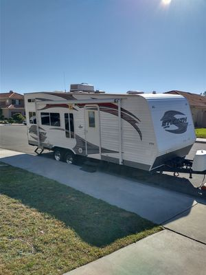 """2010 """"22"""" Stealth Limited toy hauler by Forest River 16 Foot cargo space for Sale in Moreno Valley, CA"""