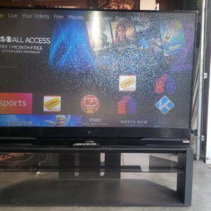 73 Inch Dlp Mitsubishi Tv and Remote ( Read Description ) Need Gone Asap for Sale in Stockton, CA