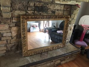 Beautiful Antique Style Mirror 44x33 for Sale in Fairburn, GA