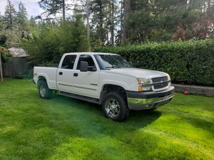 2005 Chevy 2500 HD 4X4 for Sale in WA, US