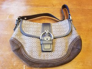 Coach monogramed hobo bag for Sale in Vancouver, WA