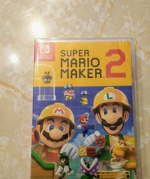 Super Mario Maker 2 For Nintendo Switch for Sale in Houston, TX