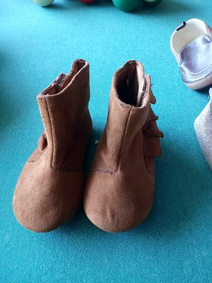 Baby girl ankle boots for Sale in Hesperia, CA