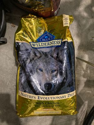 Blue wilderness dog food for Sale in Millersville, MD