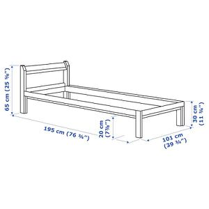Ikea Twin Bed and slats for Sale in Portland, OR