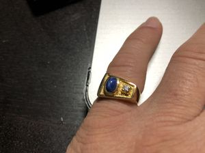 TIGER EYE AND DIAMOND 14k GOLD RING for Sale in Hialeah, FL