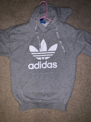 Adidas grey hoodie for Sale in Westminster, CO