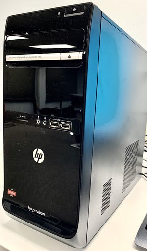 HP Pavilion P6-2310 AMD A4-3420 DuoCore 2.8GHz 6GB Ram 500GB HDD Win10Pro MS Office 2019 for Sale in Mercer Island, WA