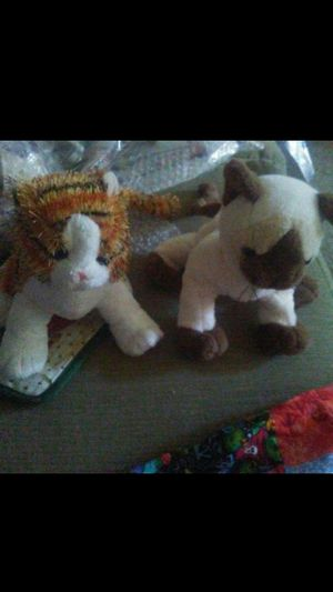 2 Beanie Baby cats prices for both for Sale in Virginia Beach, VA
