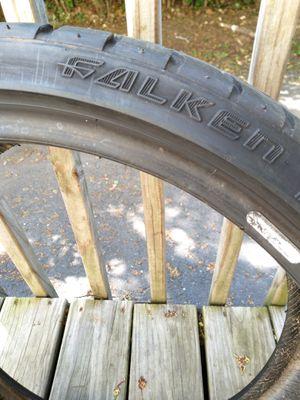Falken low profile tires size 215/35/18 for Sale in Waterbury, CT