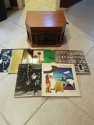 Crosley record, cassette and CD player with records for Sale in Altamonte Springs, FL