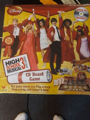 HIGH SCHOOL MUSICAL CD BOAED GAME for Sale in Waynesville, MO