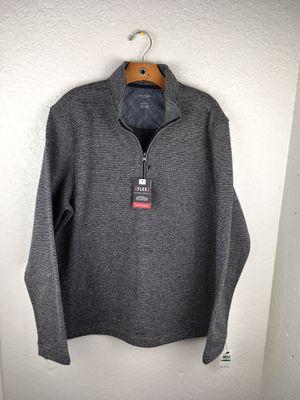 Van Heusen = Ribbed = 1/4 Zip Long Sleeve Pullover Top = Men's = Men's L for Sale in Kissimmee, FL